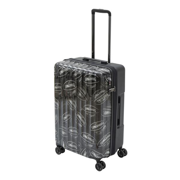 スポルディング ダブルホイールキャリー 64L+7L(71L)バスケットボール SP-0803-60 SPALDING キャリーケース スーツケース【送料無料】