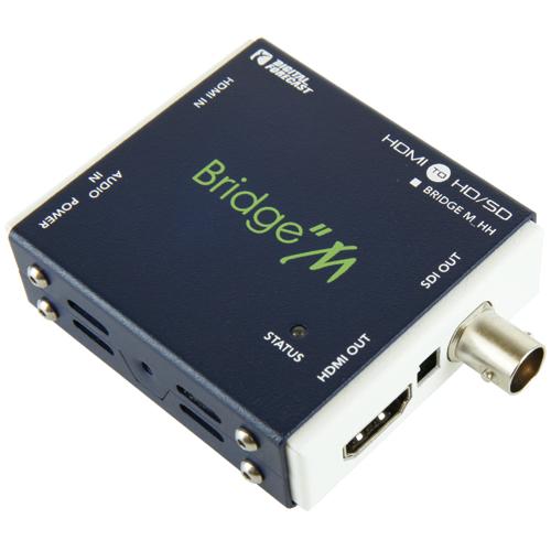 超小型軽量マルチフォーマット対応HDMI->SDIコンバーター エーディテクノ M_HH(代引き不可)