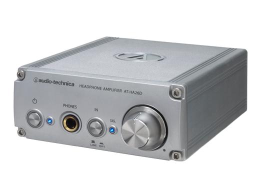 D/Aコンバータ内蔵ヘッドホンアンプ オーディオテクニカ AT-HA26D(代引き不可)