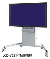 大型パブリックディスプレイ用キャスター付きスタンド NEC ST-CS41-S(代引き不可)