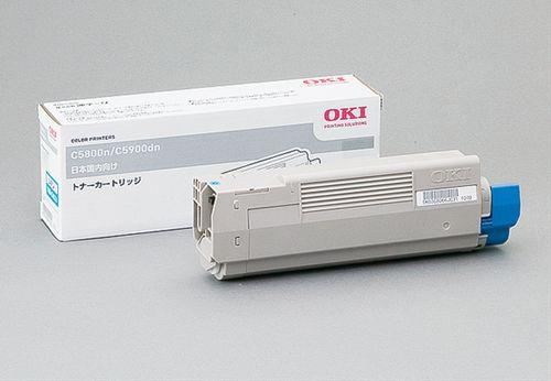 トナーカートリッジ シアン OKI TNR-C4CC1(代引き不可)