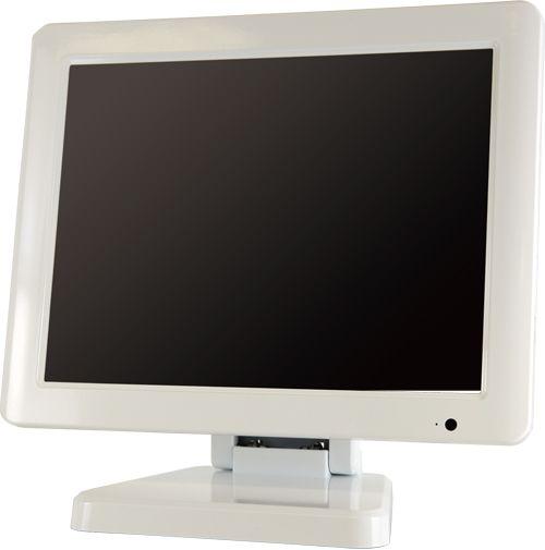 エーディテクノ ADTNO HDCP対応9.7型業務用タッチパネル液晶ディスプレイ ホワイト LCD97TW(代引き不可)