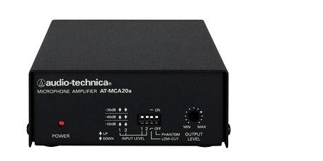 オーディオテクニカ ATH01 1chマイクロホン・コントロールアンプ AT-MCA20A(代引き不可)