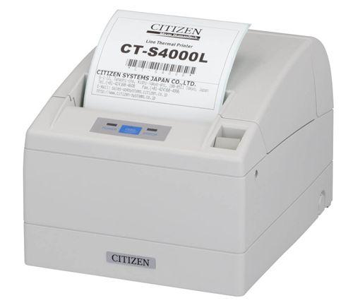 シチズン・システムズ CTSYS ラインサーマルプリンタCT-S4000 シリアルI/Fモデル CT-S4000RSJ-WH(き)