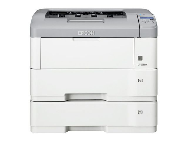 エプソン EPSON A3モノクロページプリンター/40PPM/ネットワーク/両面印刷/増設1段カセットユニット付き LP-S3550Z(代引き不可)