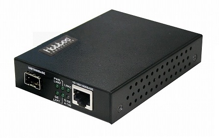 ホブス HOBES 光メディアコンバータ 10/100/1000T-100/1000FX SFP LC SMF40km HME-1100LX/LC40S(代引き不可)