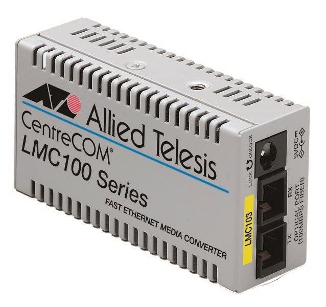 アライドテレシス CentreCOM LMC103-Z5 [100BASE-TXx1、100BASE-FX SMF2心(SC)x1(デリバリースタンダード保守5年付)] (0012RZ5)()