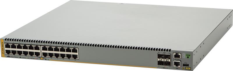 アライドテレシス AT-x930-28GTX-Z1 [10/100/1000BASE-Tx24、SFP+スロットx4(デリバリースタンダード保守1年付)]()