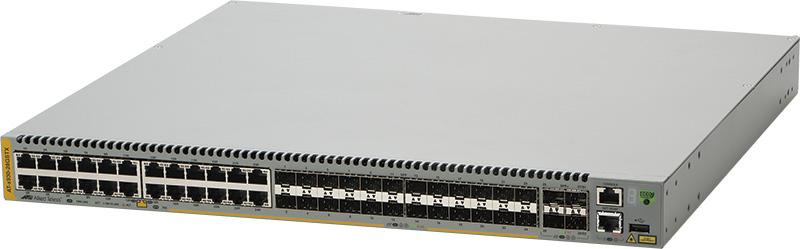 アライドテレシス AT-x930-28GSTX-Z1 [10/100/1000BASE-Tx24(コンボ)、SFPスロットx24(コンボ)、SFP+スロットx4] (1622RZ1)()