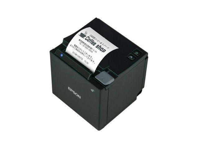 エプソン サーマルレシートプリンター TM-m10(58mm幅/Ethernet/ブラック)(代引不可)