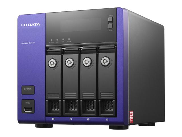 アイ・オー・データ機器 Windows Storage Server 2012 R2 Standard Edition搭載 4ドライブモデル NAS 24TB(代引不可)