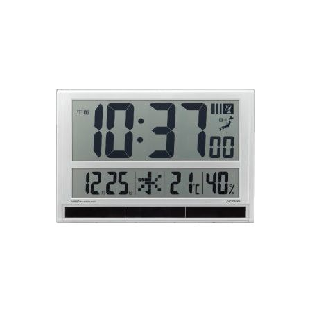 キングジム ハイブリッドデジタル電波時計 GDD-001(代引不可)
