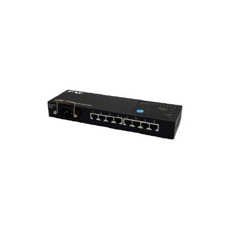 FXC 8ポート 10/100/1000Mbps マニュアル設定対応タップ型イーサネットスイッチ + 同製品SB5バンドル ES1008MTP2-ASB5(代引不可)