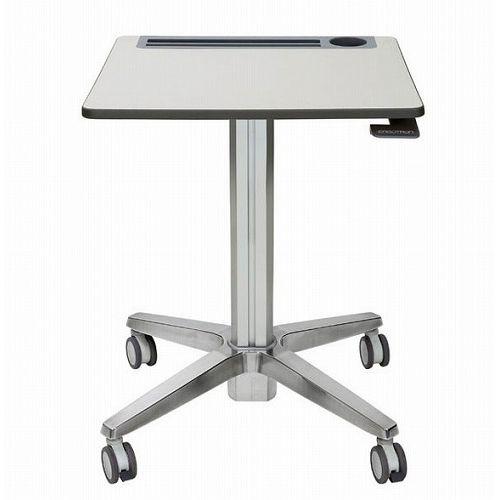 ERGOTRON LearnFit Travel Adjustable Standing Desk Clear Anodized 24-547-003(代引不可)