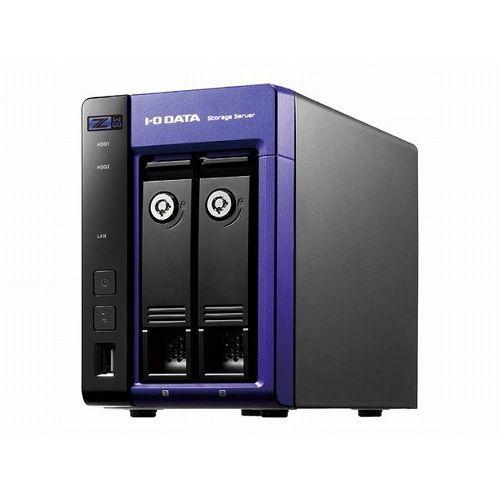 アイ・オー・データ機器 Windows Storage Server 2016 Workgroup Edition/Intel Celeron搭載 2ドライブNAS8TB HDL-Z2WQ8D(代引不可)