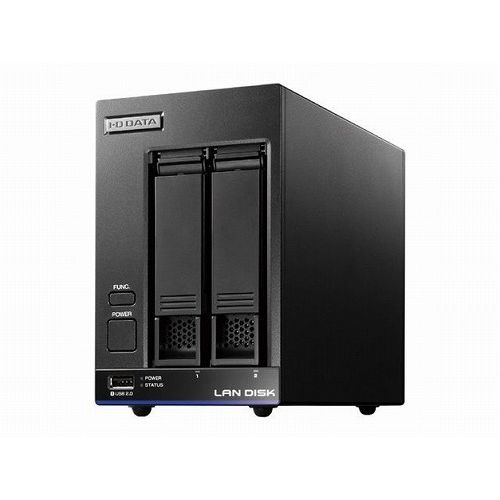 アイ・オー・データ機器 Trend Micro NAS Securityインストール済み 2ドライブ法人向けNAS 8TB ライセンス5年 HDL2-X8/TM5(代引不可)