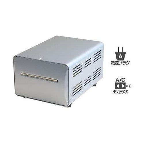 カシムラ 海外国内用型変圧器220-240V/2000VA WT-14EJ(代引不可)
