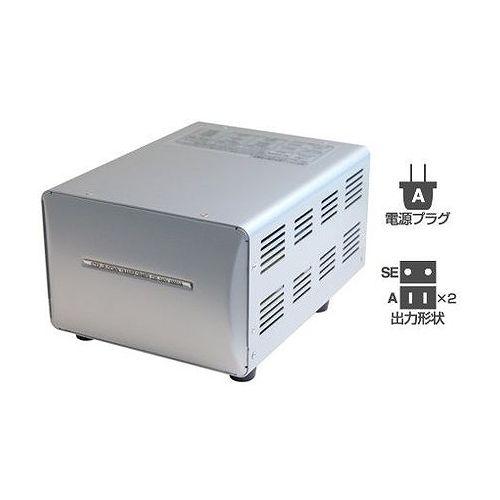 カシムラ 海外国内用型変圧器220-240V/3000VA WT-15EJ(代引不可)