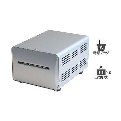 カシムラ 海外国内用型変圧器110-130V/2000VA WT-2UJ(代引不可)