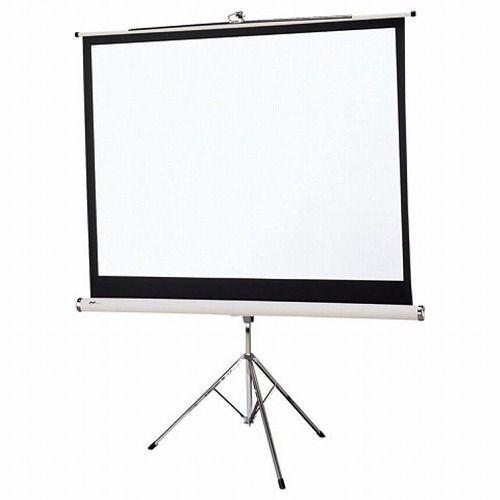 オーエス 三脚スタンドスクリーン 80型NTSC PT-080H_WG103(代引不可)