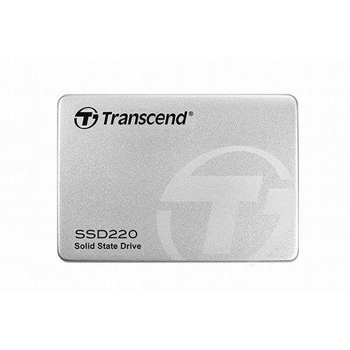トランセンドジャパン 480GB 2.5インチ SSD220 SATA3 TLC Aluminum TS480GSSD220S(代引不可)