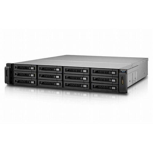QNAP Turbo NAS SAS接続 ストレージ拡張エンクロージャー 12ベイ ラック型 REXP-1220U-RP(代引不可)