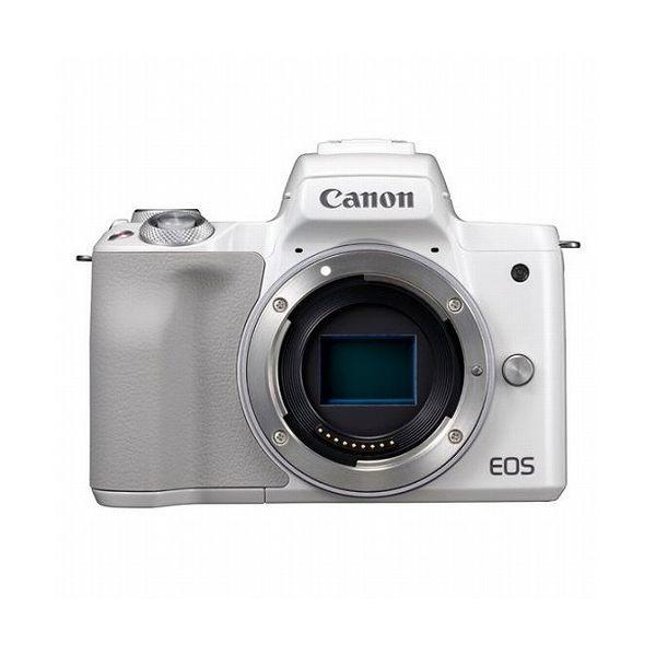★決算特価商品★ キヤノン (EOS (EOS Kiss)Canon ミラーレス一眼カメラ Kiss M・ボディ(2410万画素 Kiss ホワイト)[2683C001] キヤノン EOSKISSMWH-BODY(), しぇんま屋:ab306bfc --- annhanco.com