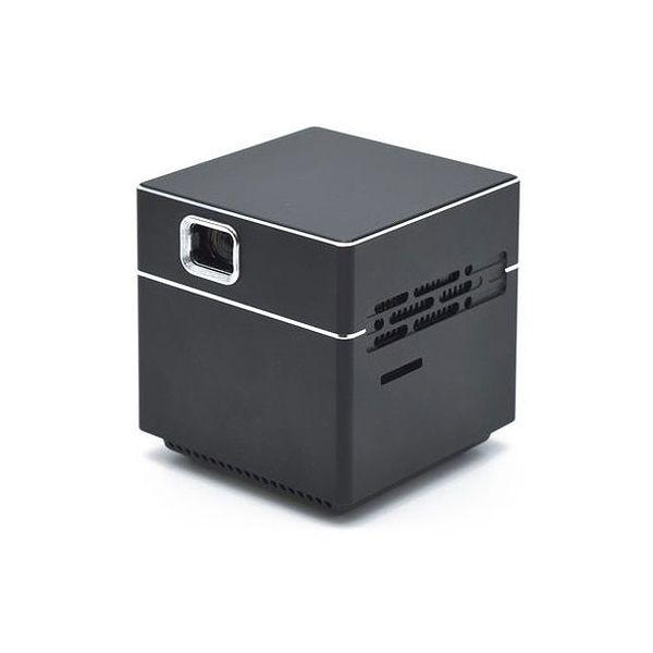 日本トラストテクノロジー ポータブルプロジェクター CUBE ブラック SPCUBK(代引不可)