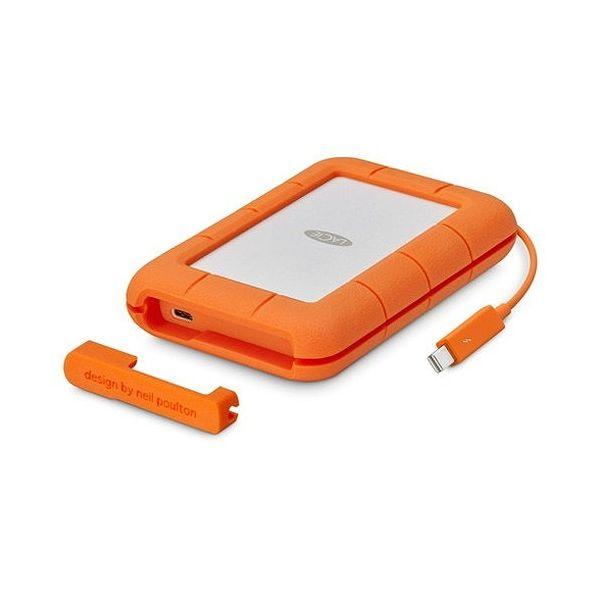 ラシー Rugged Thunderbolt USB-C SSD 500GB STFS500400(代引不可)