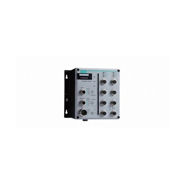 MOXA EN 50155認証 24ポートマネージドイーサネットスイッチ TN-5508A-8POE-WV-T()