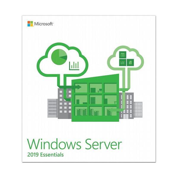 日本マイクロソフト Microsoft Windows Server Essentials 2019 64Bit Japanese 1 License DVD G3S-01195(代引不可)