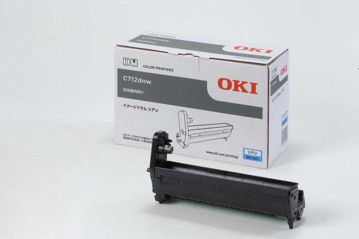 OKI イメージドラム シアン (C712dnw) DR-C4CC(代引不可)