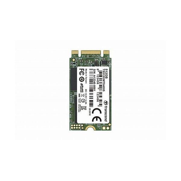 トランセンドジャパン 512GB M.2 2242 SSD SATA3 MLC TS512GMTS400S()