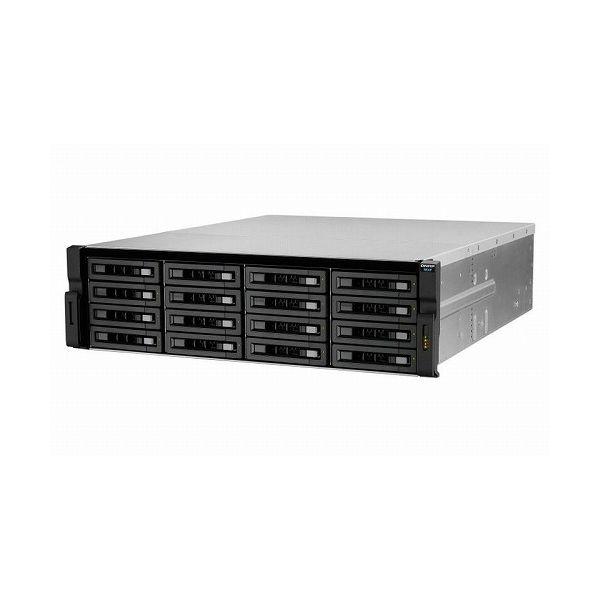 QNAP REXP-1620U-RP 160TB HDD搭載モデル (ニアラインSATA 10TB HDD x 16 搭載) REXP-1620U-RP 160TB(代引不可)
