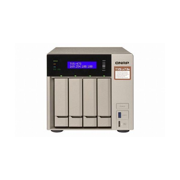 正規品販売! QNAP QNAP TVS-473e-8G 24TB搭載モデル(タワー型 NAS NAS HDD6TBx4個搭載) 24TB-A() TVS-473E 24TB-A(), 千代田ファニチャー:610c0cb6 --- easyacesynergy.com