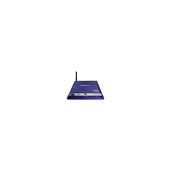 【送料無料】BrightSign デジタルサイネージプレーヤー BrightSign HD224W(WiFi内蔵モデル) BS/HD224W BrightSign デジタルサイネージプレーヤー BrightSign HD224W(WiFi内蔵モデル) BS HD224W(代引不可)【送料無料】