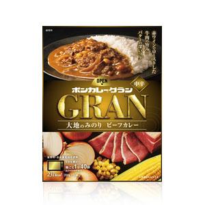 【ケース販売】大塚食品 ボンカレーグラン 大地のみのり ビーフカレー 200g 30個 食品 レトルトカレー 辛口 箱買い ケース売り