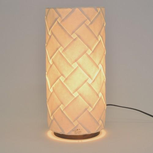 日本製和紙照明 筒型スタンドライト 織姫【送料無料】