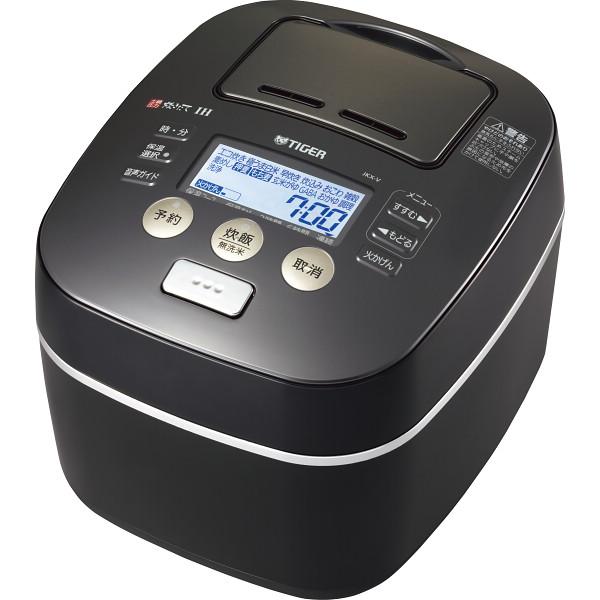 タイガー 圧力土鍋IH炊飯ジャー(炊きたて)(5.5合) アーバンブラック 電化製品 電化製品調理機器 炊飯器 JKX-V102KU(代引不可)【送料無料】