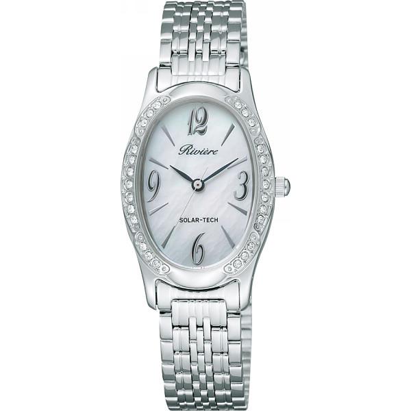 リビエール レディース腕時計 シルバー 装身具 婦人装身品 婦人腕時計 TAQ98-8582(代引不可)【送料無料】