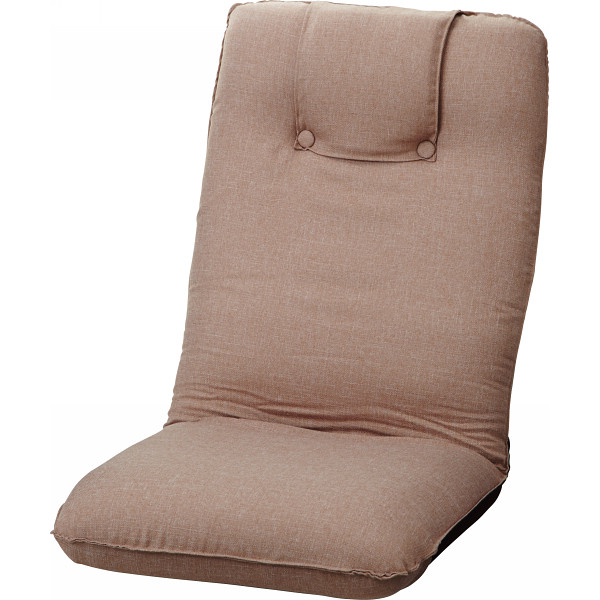 低反発折りたたみ座椅子 ベージュ 木製品 家具 ソファ 座椅子 肘なし座椅子 ST-016BE(代引不可)【送料無料】