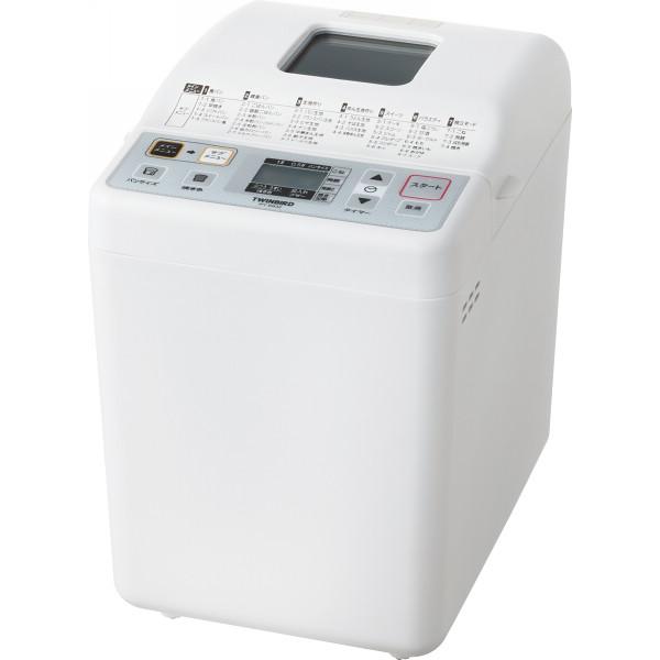 ツインバード ホームベーカリー(1斤) 電化製品 電化製品調理機器 その他調理小物 PY-E632W(代引不可)【送料無料】