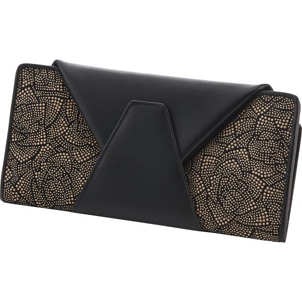 印伝ジャバラ式財布 装身具 財布 N-RE-IND08W(代引不可)【送料無料】