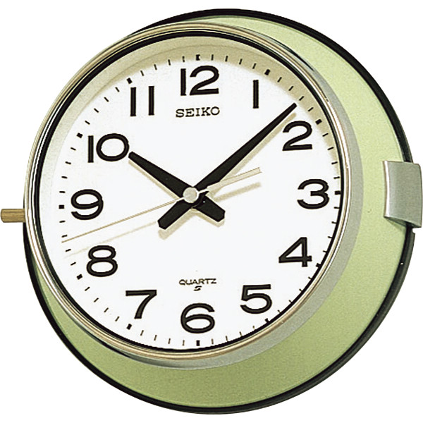 セイコー 防塵掛時計 室内装飾品 掛け時計 振り子無し丸型時計 KS474M(代引不可)【送料無料】