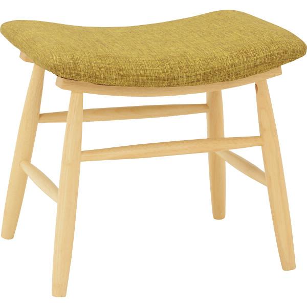 スツール 2脚セット グリーン 木製品 家具 ソファ 座椅子 VH-7947GR(代引不可)【送料無料】