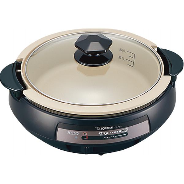 象印 グリルなべ ブラウン 電化製品 電化製品調理機器 電気鍋 EP‐PE10‐TA(代引不可)【送料無料】