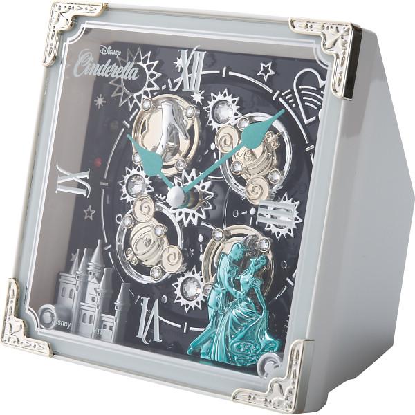 ディズニー シンデレラ からくり置時計(32曲入) 室内装飾品 掛け時計 からくり時計 4RH784MC03(代引不可)【送料無料】