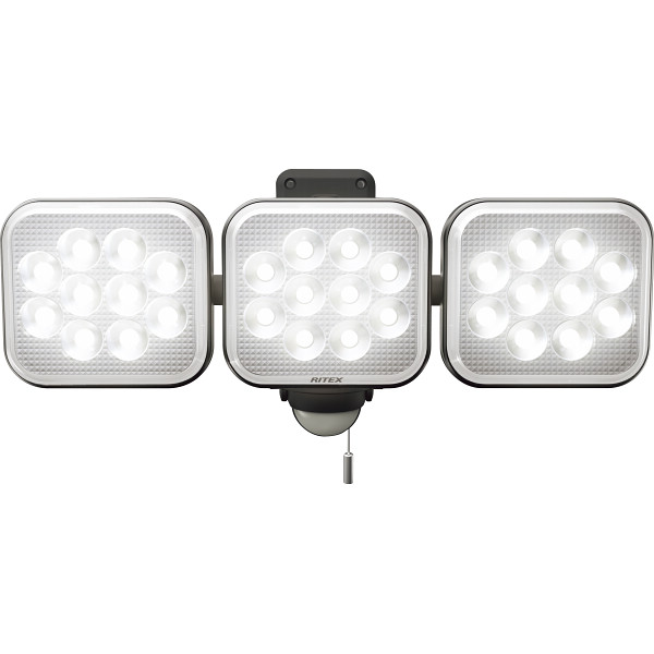 12W×3灯フリーアーム式 LEDセンサーライト 電化製品 DIY用品 園芸用品 LED-AC3036(代引不可)【送料無料】