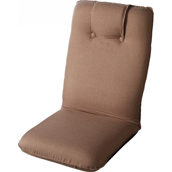 低反発折りたたみ座椅子2個組 ベージュ 木製品 家具 ソファ 座椅子 肘なし座椅子 ST-016BE-2(代引不可)【送料無料】