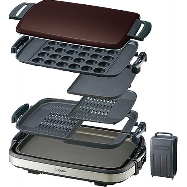 象印 ホットプレート(3.5枚プレート) やきやき 電化製品 電化製品調理機器 ホットプレ-ト EA-GV35-TD(代引不可)【送料無料】